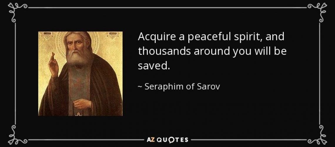 acquire peace