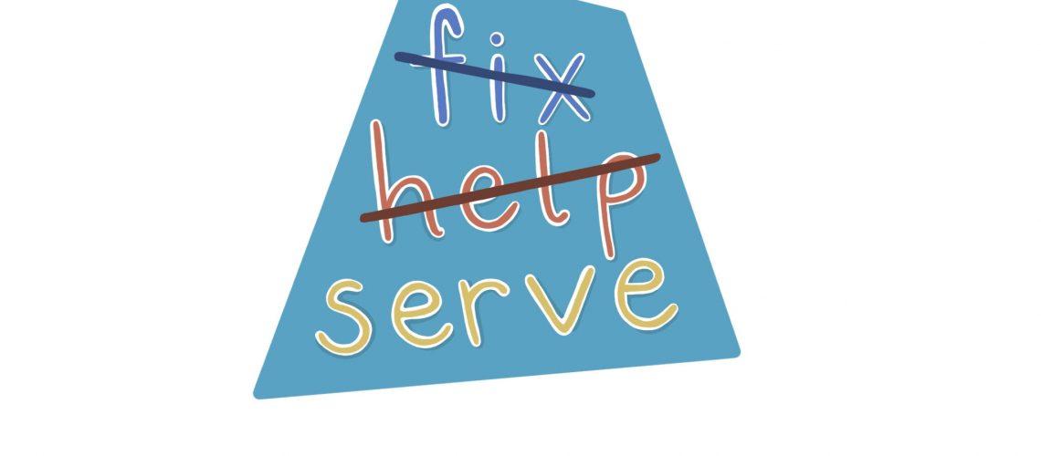 fix help serve sticker